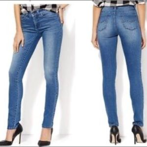 Soho Jeans Instantly Slimming Skinny Heights Blue
